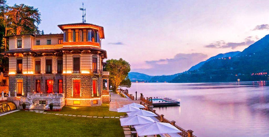 Poussez les portes d'un splendide palais devenu un hôtel très luxueux