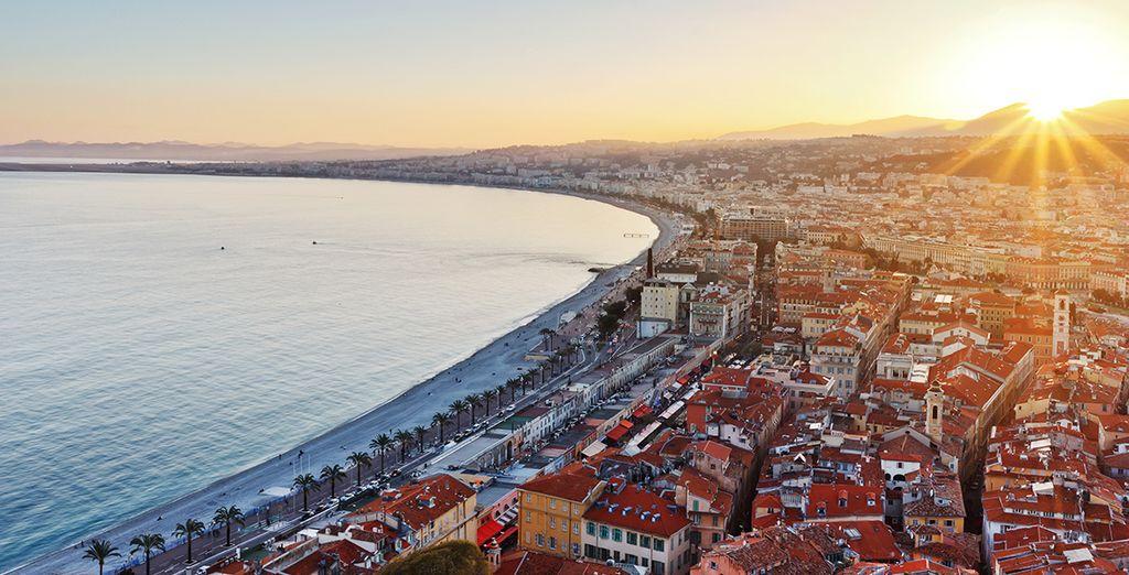 A quelques kilomètres de Nice et de sa mythique promenade...