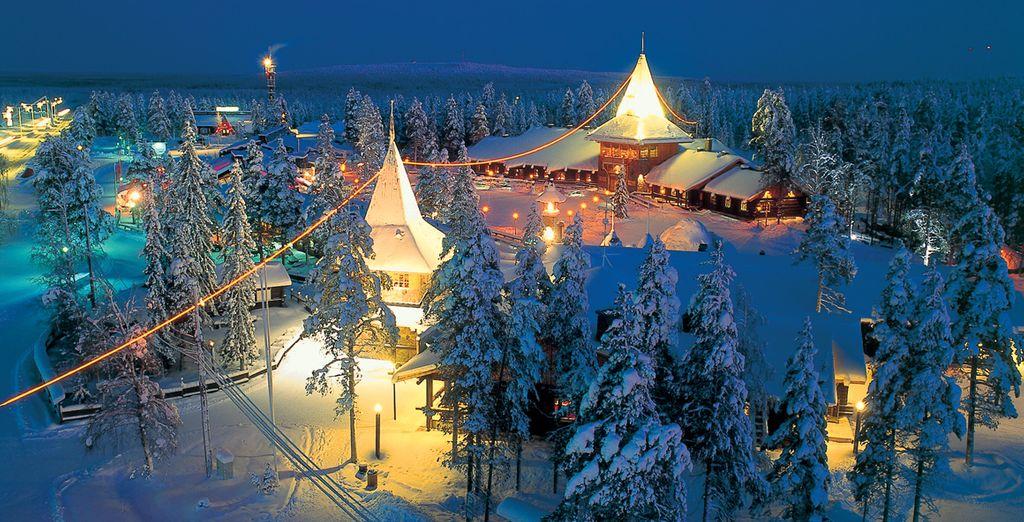 Visitez le village du Père Noël...
