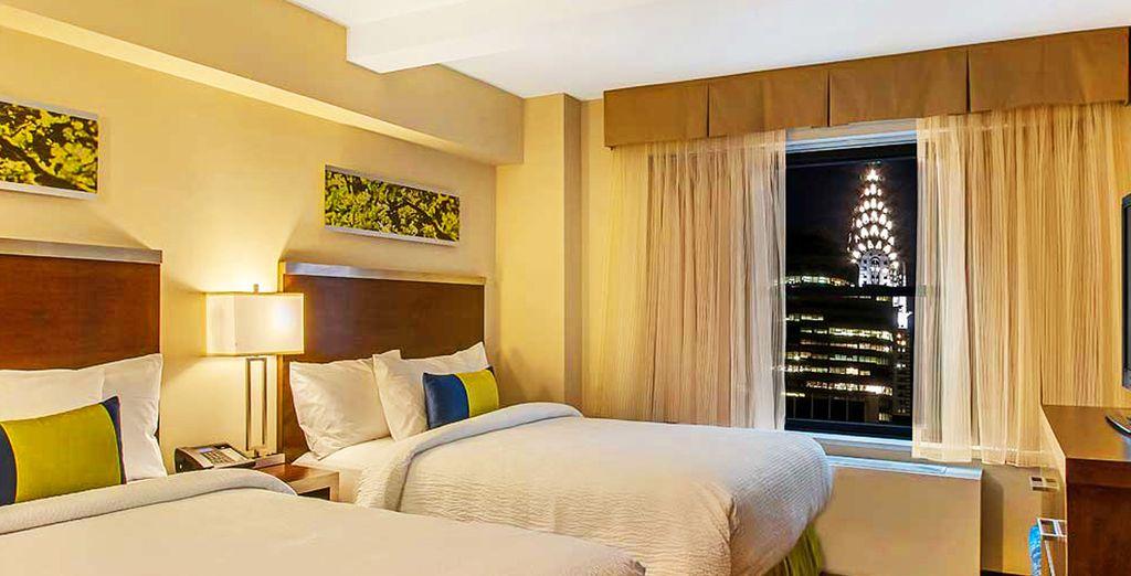 Votre chambre sera un cocon de confort
