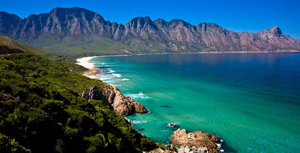 Eau turquoise et paysages à couper le souffle... vous êtes bien au Cap Vert