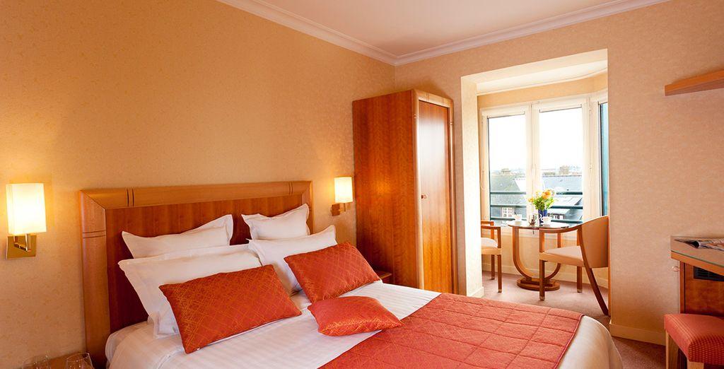 Hôtel haut de gamme 4 étoiles tout confort avec vue sur la Manche