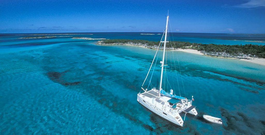 C'est à bord d'un Catamaran de 14 mètres que vous serez accueilli par votre équipage - Croisière aux Seychelles en Catamaran Mahe Island