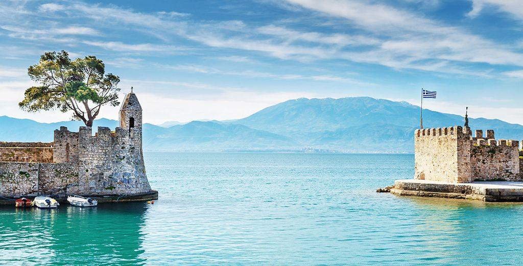 La Grèce et ses paysages magnifiques et variés