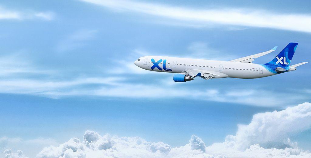Et pour que le voyage soit parfait, choisissez un vol XL Airways