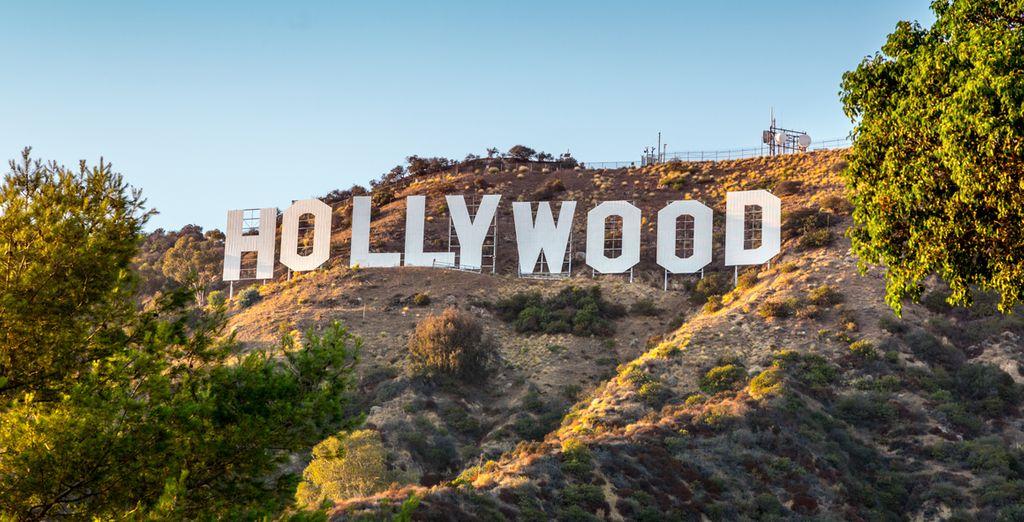 Mais aussi les paillettes de Hollywood