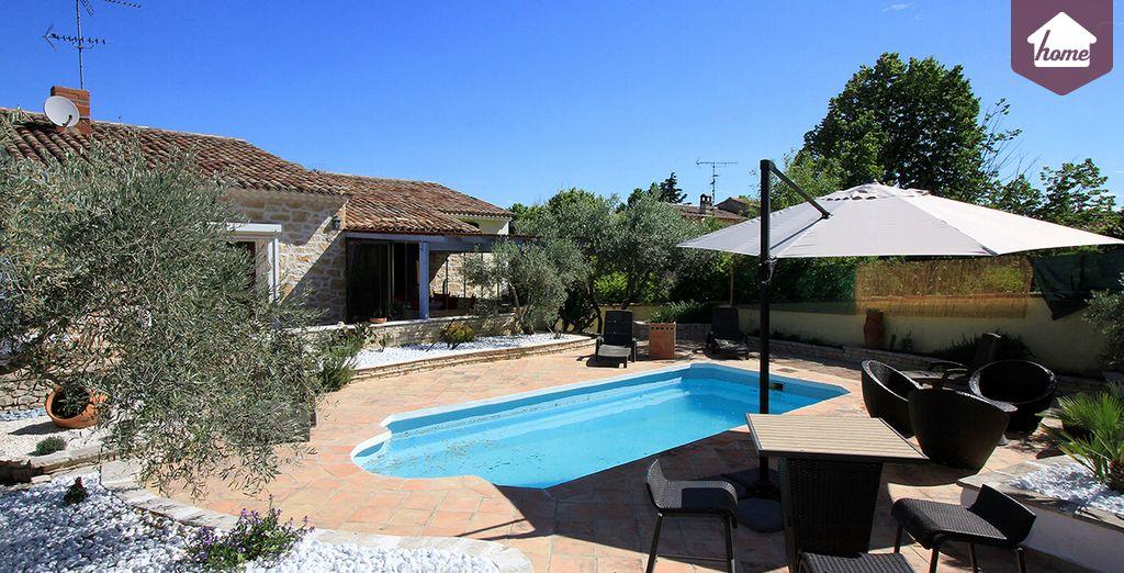 Une annexe indépendante de 70m2 - Villa 4 chambres jusqu'à 8 personnes Le Puy Sainte Réparade