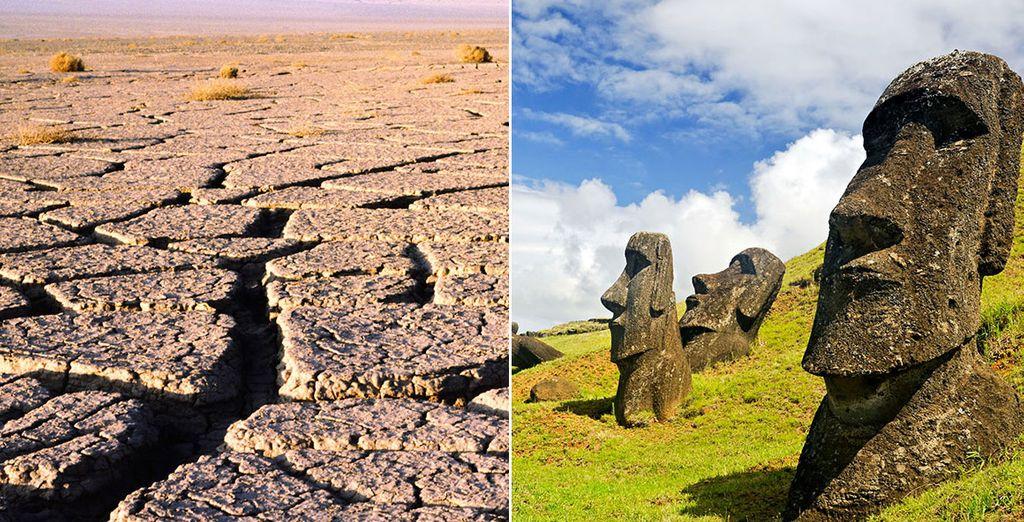 Partez à la découverte des merveilles du Chili et de l'Ile de Pâques - Circuit: Il était une fois le Chili et l'île de Paques Santiago