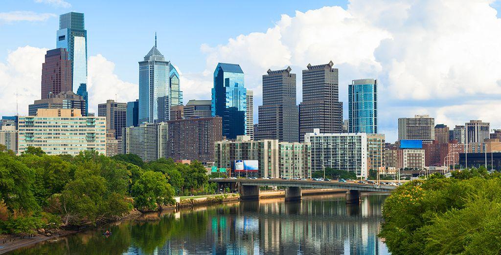 Puis Philadelphie, la ville