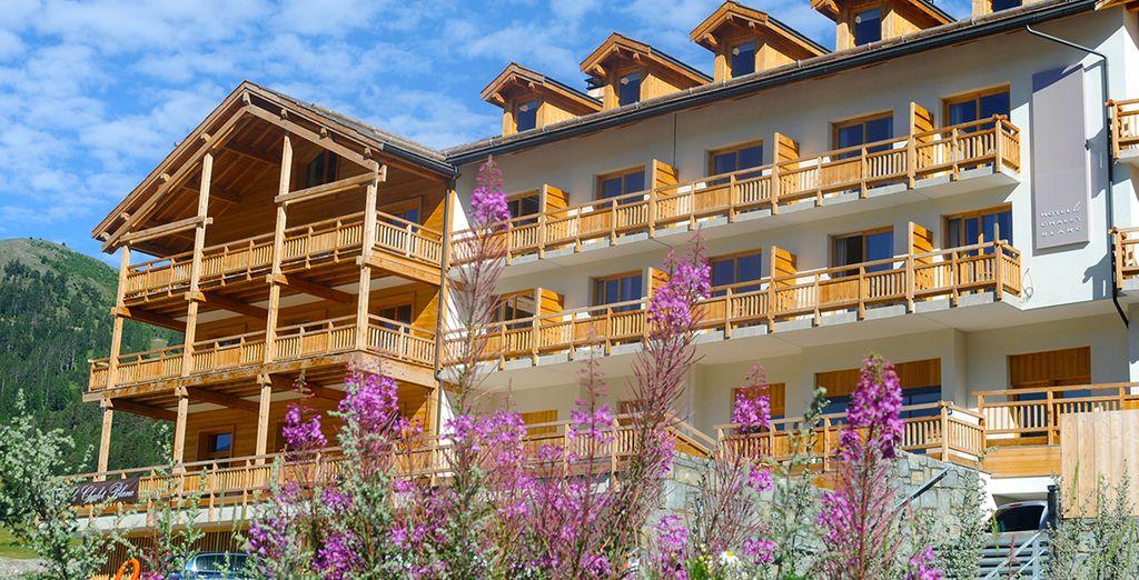 Au Chalet Blanc ! Un hôtel 4* niché à 1860 mètres d'altitude