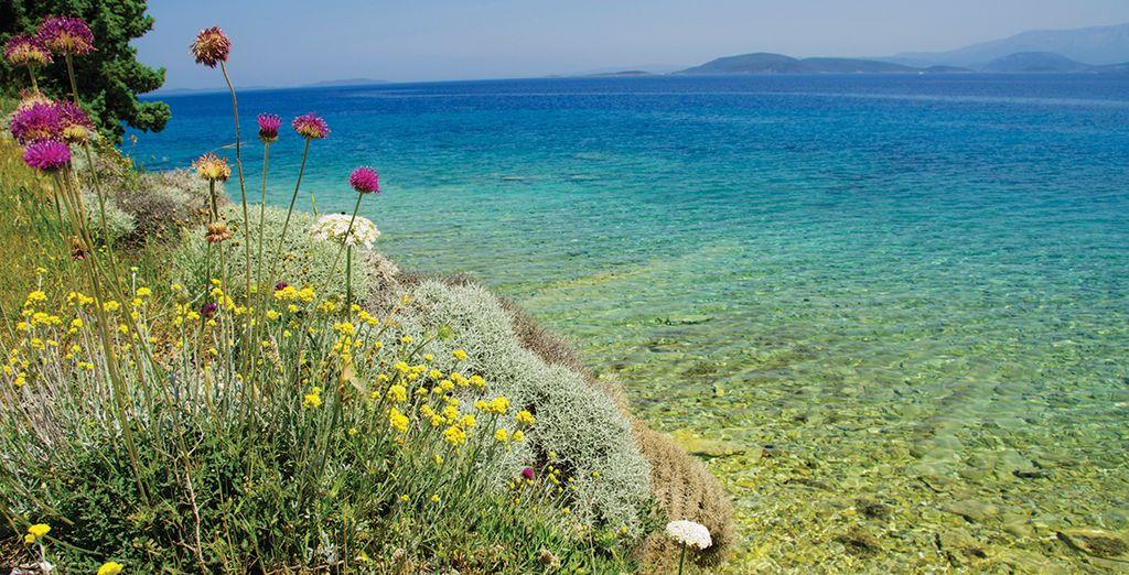 Avant d'atteindre Izmir et ses jolies côtes
