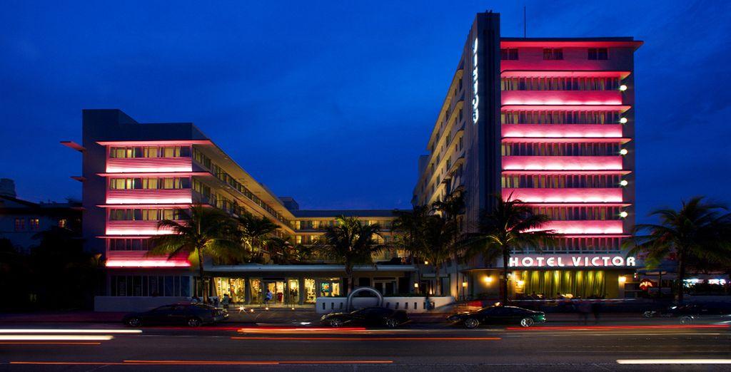 Direction Miami !  - Hôtel Victor South Beach 4* Miami