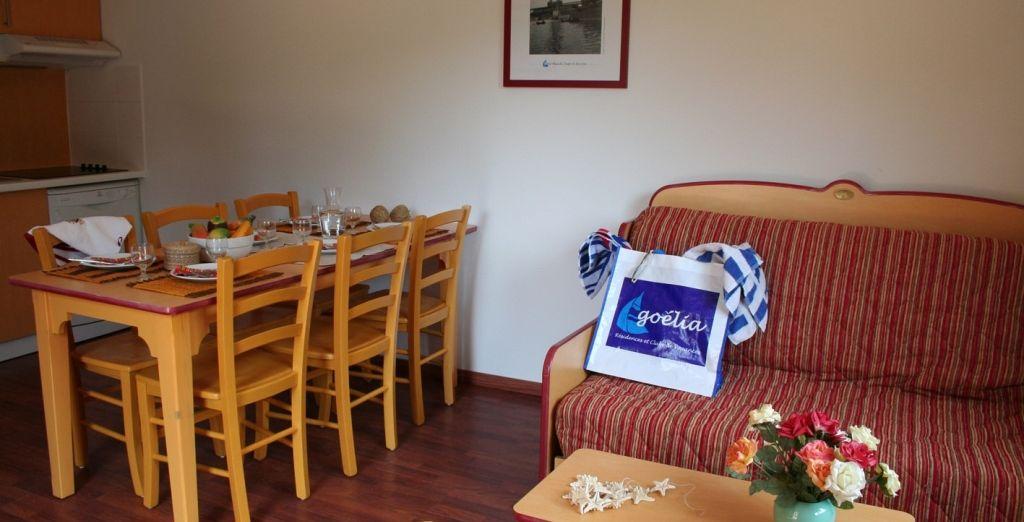 Où vous pourrez séjourner dans un Appartement 2 pièces 4 personnes ou 3 pièces 6 personnes