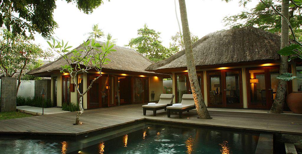 Et sa piscine privée, pour toujours plus de relaxation