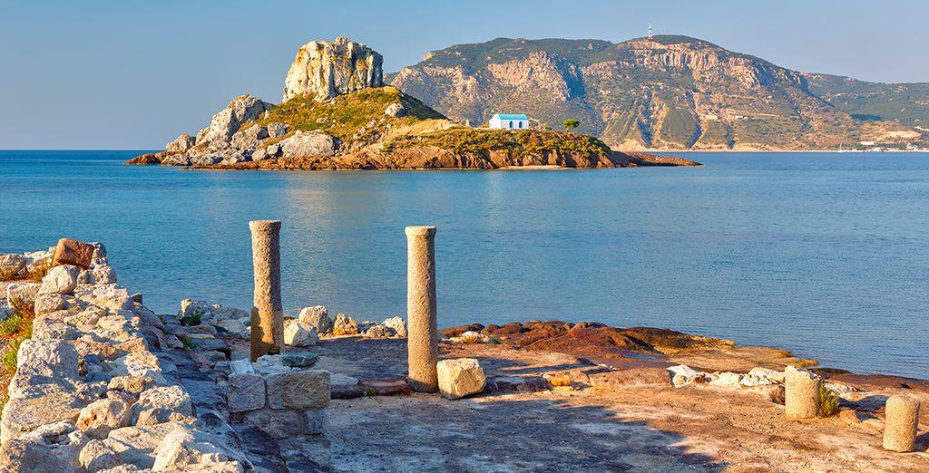 Kos vous émerveillera par son patrimoine culturel et archéologique de tout premier plan...