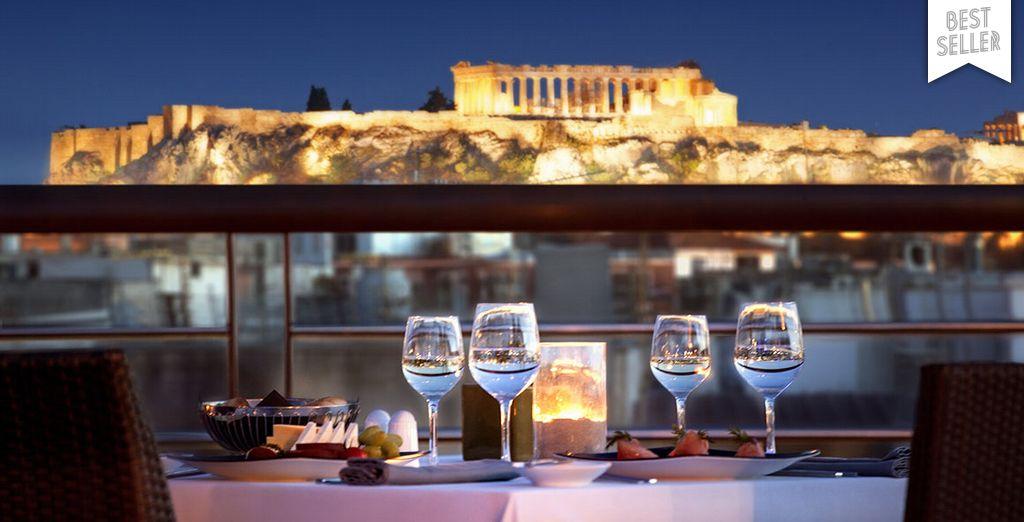 Bienvenue à Athènes...
