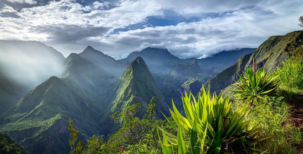 Et ses paysages tropicaux hors du commun