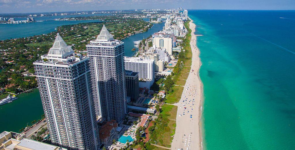 Commencez votre séjour sur la côte est des Etats-Unis, à Miami