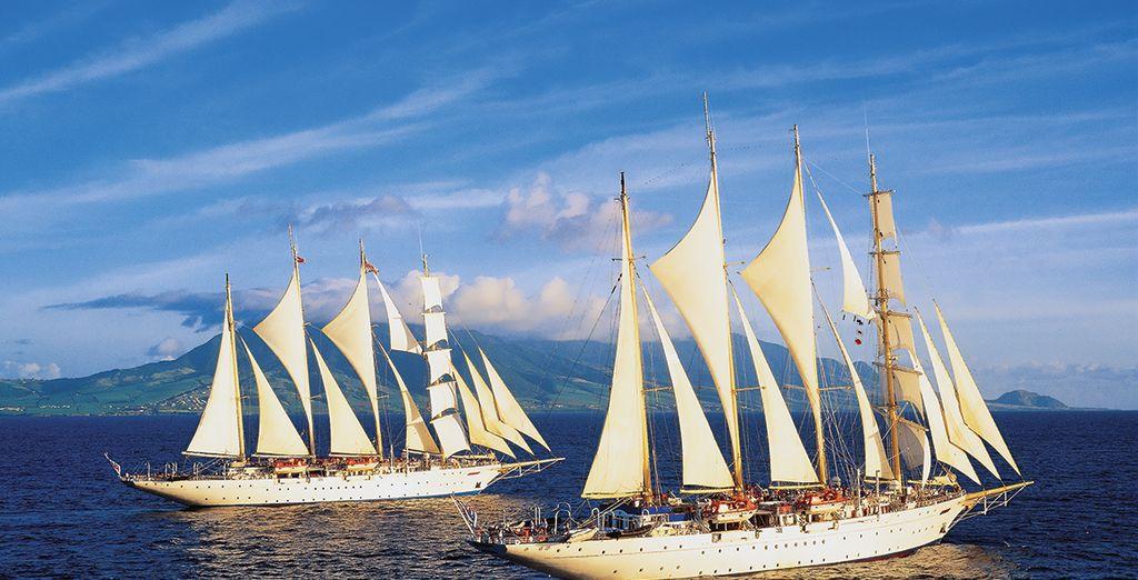 Embarquez à bord d'un magnifique voilier