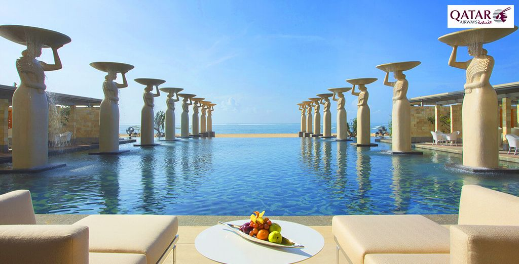Un véritable coin de paradis s'offre à vous... - The Mulia Bali Resorts and Villas avec Qatar Airways Nusa Dua, Bali