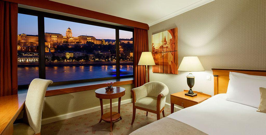 Et installez-vous en chambre Supérieure Vue Danube
