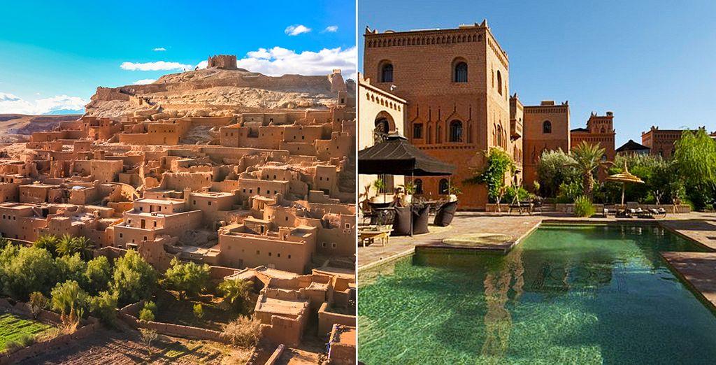 Nous avons envie de vous faire vivre une histoire hors du commun... - Combiné Escapade de luxe en pays Berbère Marrakech