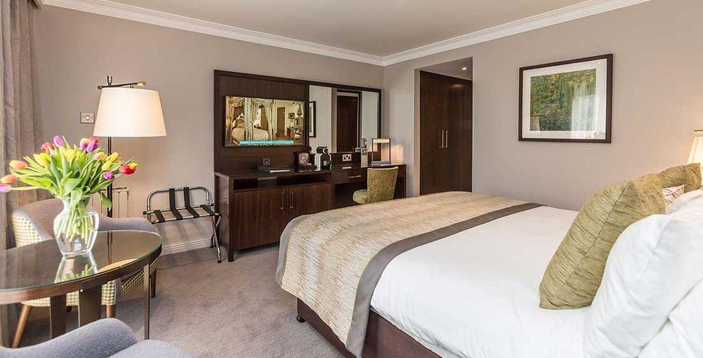 Appréciez les espaces de votre chambre Deluxe