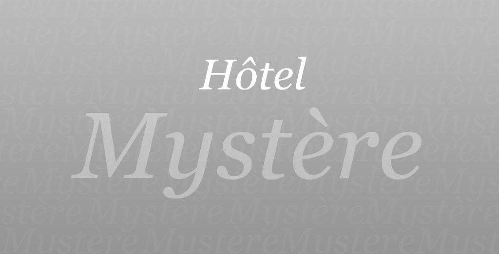 Laissez-vous tenter par le mystère...