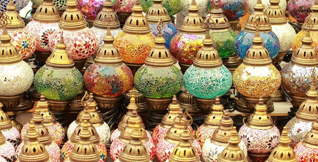 Et serez enchanté par l'artisanat local du Grand Bazar