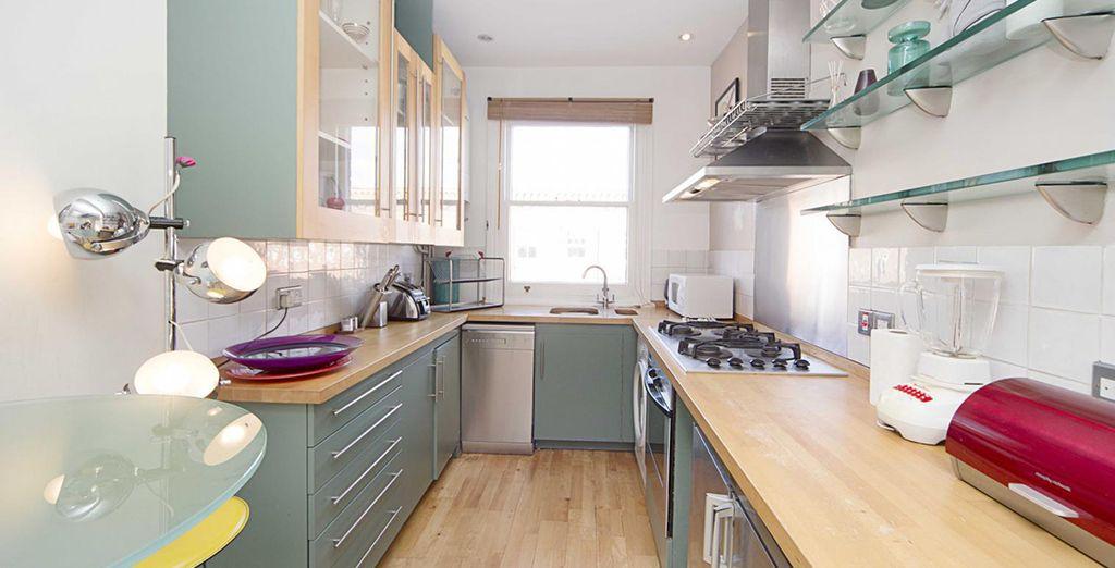 Une superbe cuisine - Appartement 1 chambre pour 2-4 personnes (70m2) Londres