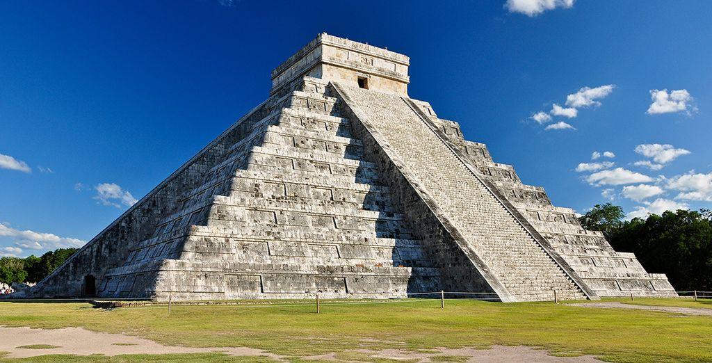 Et les sites archéologiques uniques, comme la pyramide de Kukulcan