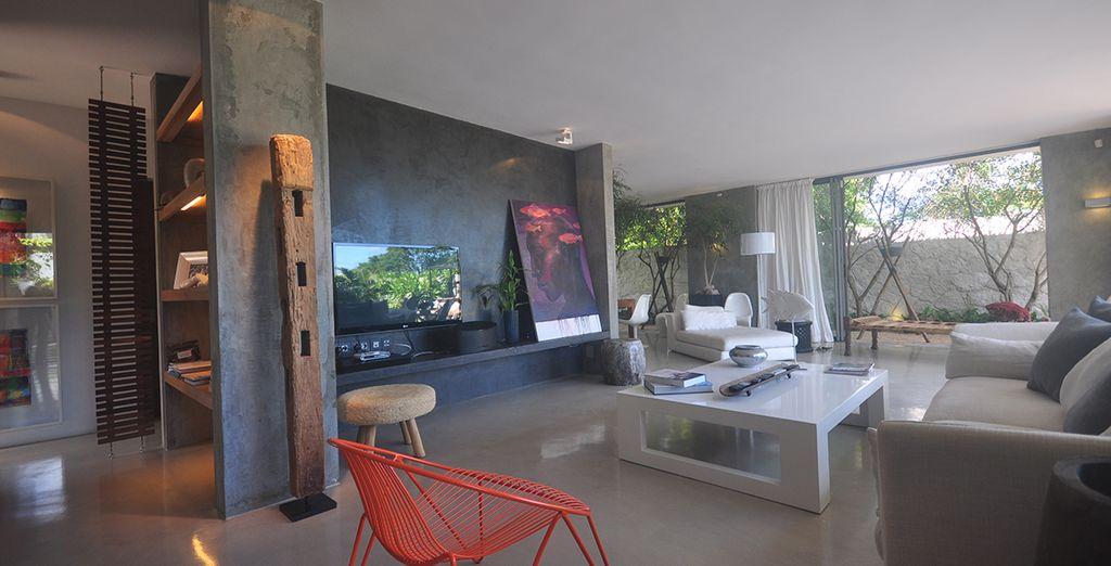Le salon moderne
