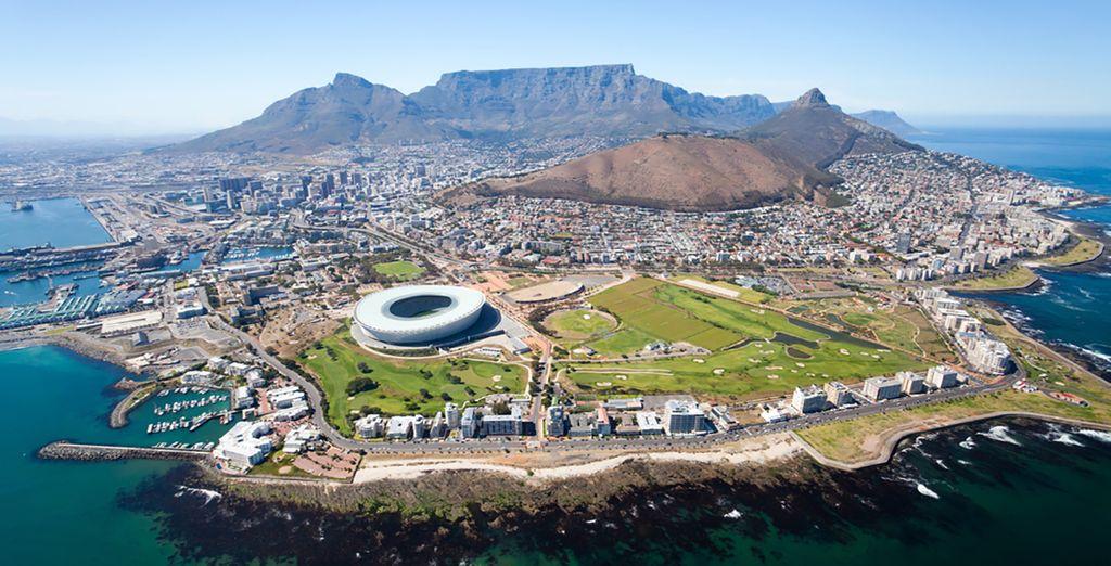 Autour de Cape Town, la cité mère de l'Afrique du Sud - Séjour Safari en Réserve Privée 5 nuits ou Séjour Safari en Réserve Privée 5 nuits avec séjour libre à Cape Town 3 nuits Cape Town