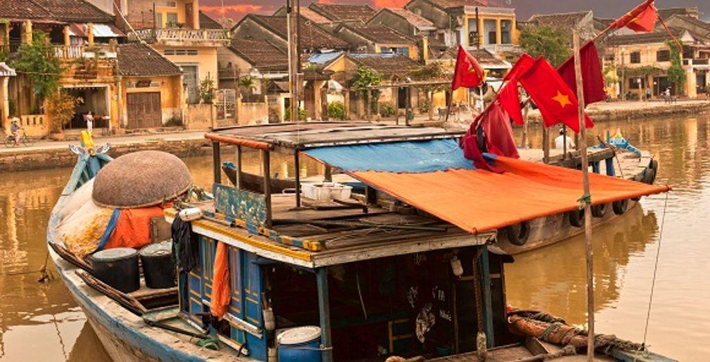 La vieille ville de Hoi An