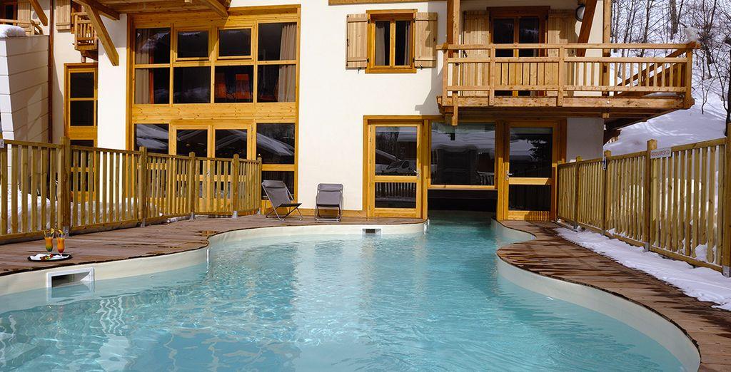 Profitez de la piscine extérieure chauffée