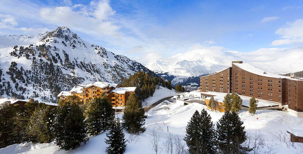 Les meilleures stations de ski dans les Alpes