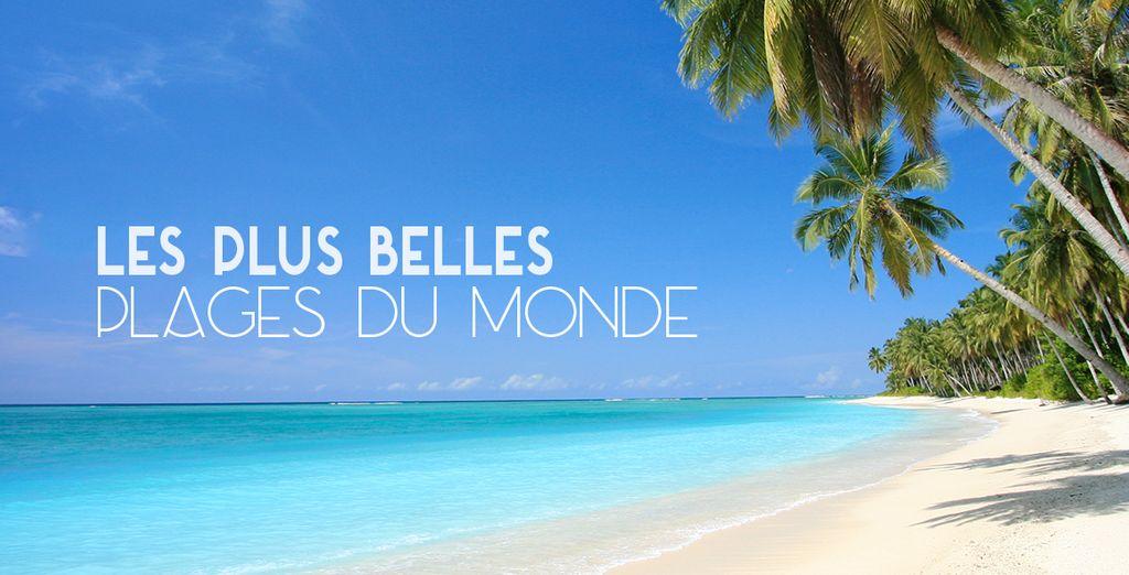 Réservez vite votre séjour vers nos plus belles plages !