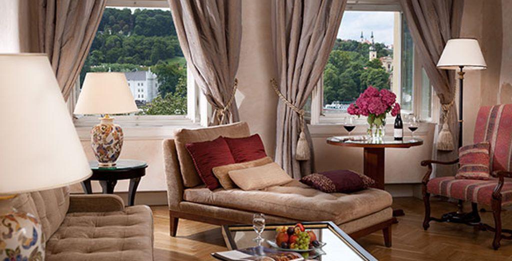 La suite Deluxe - Pachtuv Palace *****  Prague