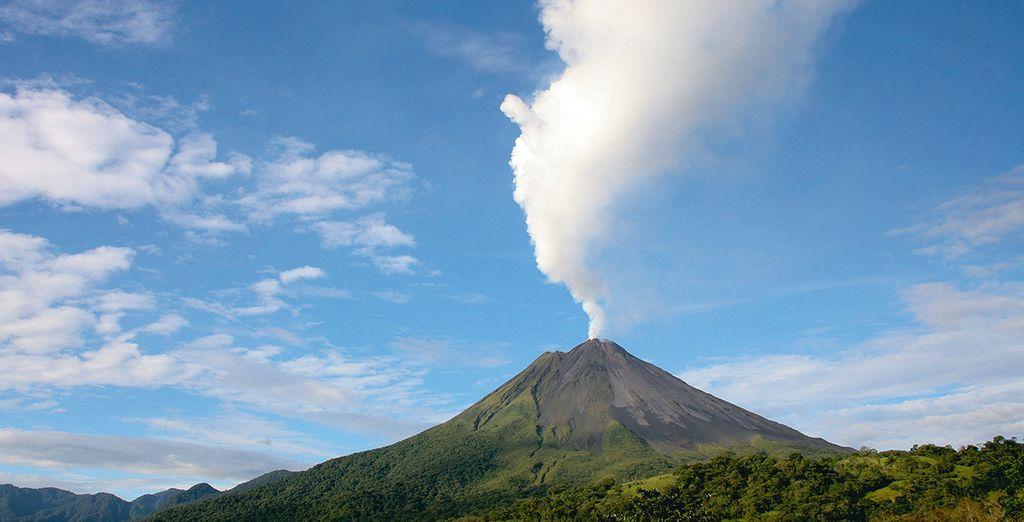Jusqu'au volcan Arenal, vous découvrirez des paysages hors du commun