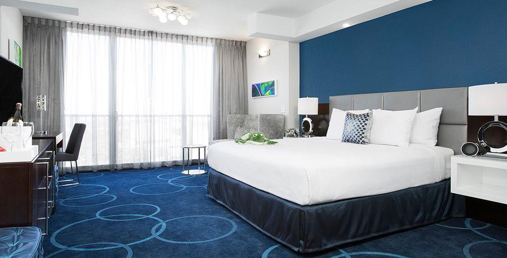 Hôtel haut de gamme tout confort, avec vue panoramique sur la ville, sélectionné par Voyage Privé