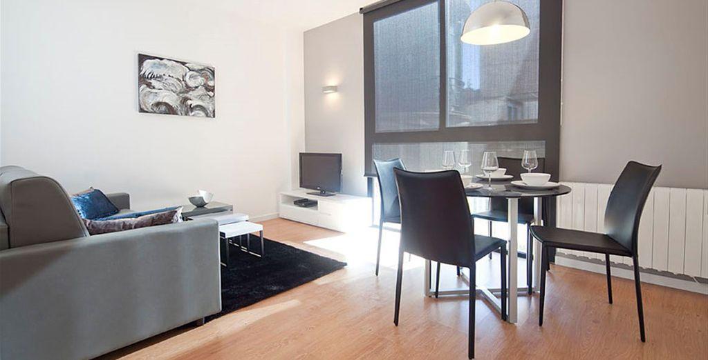 Appartement 2 : La salle-à-manger