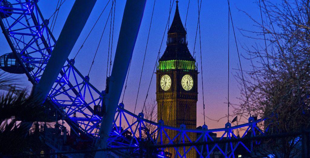 pour rejoindre tous les centres d'intérêts de la capitale londonienne