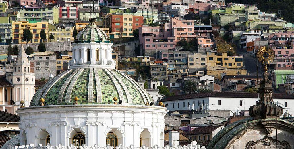 Au départ de Quito