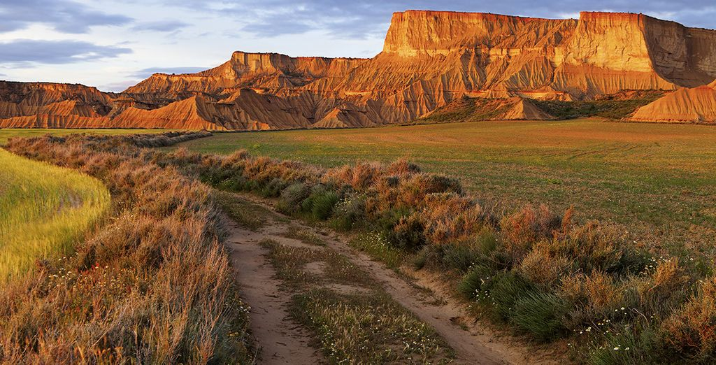 Puis restez stoique devant des paysages incroyables...