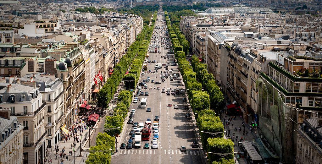 À deux pas des Champs-Élysées