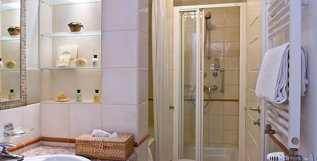 Et son agréable salle de bain