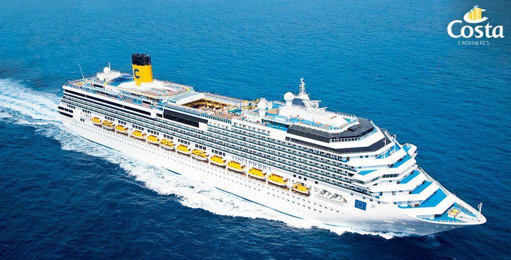 Prenez le large à bord du Costa Pacifica... - Croisière à bord du Costa Pacifica au départ de Nice - 10 jours / 9 nuits Nice