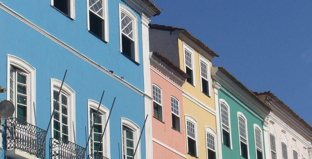 Chaleur humaine entre culture africaine et portuguaise vous attend dans cette ville colorée