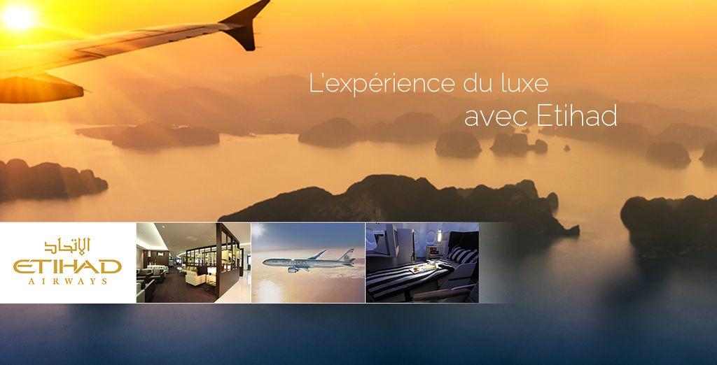 Réservez vite votre départ avec Etihad Airways