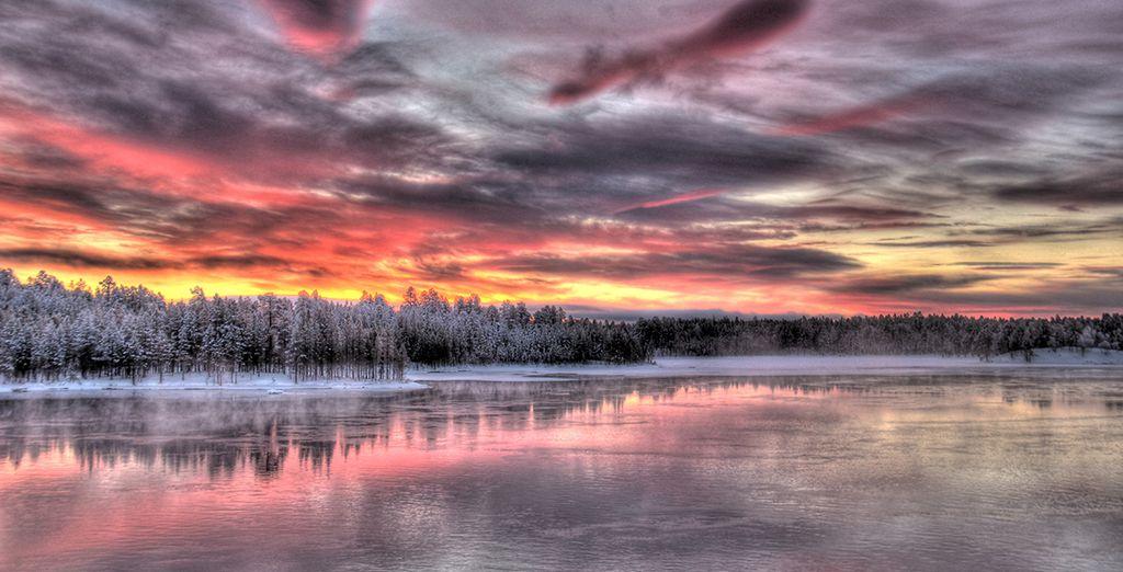 Dans un pays haut en couleurs... - Châlets au village Arctique de Salla - 5 jours / 4 nuits Kuusamo
